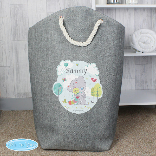 Personalised Tiny Tatty Teddy Cuddle Bug Storage Bag from Sassy Bloom Gifts - alternative view