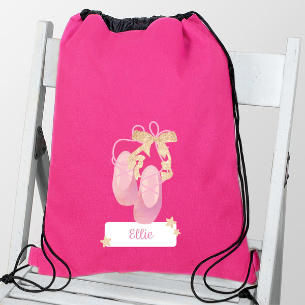 Personalised Swan Lake Ballet Swim & Kit Bag lifestyle image