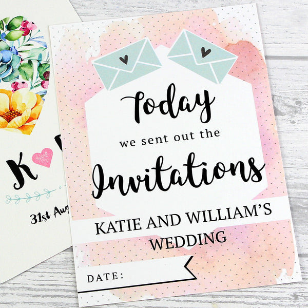 Personalised Wedding Cards For Milestone Moments lifestyle image