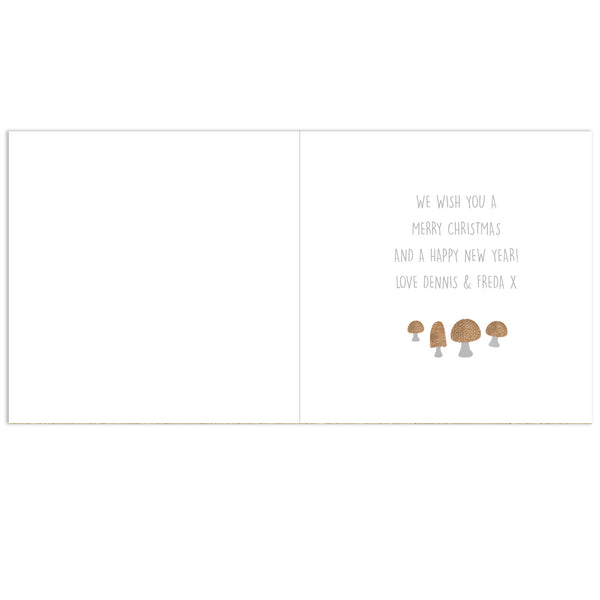 Personalised Scandinavian Christmas Gnome Pack of 20 Cards lifestyle image