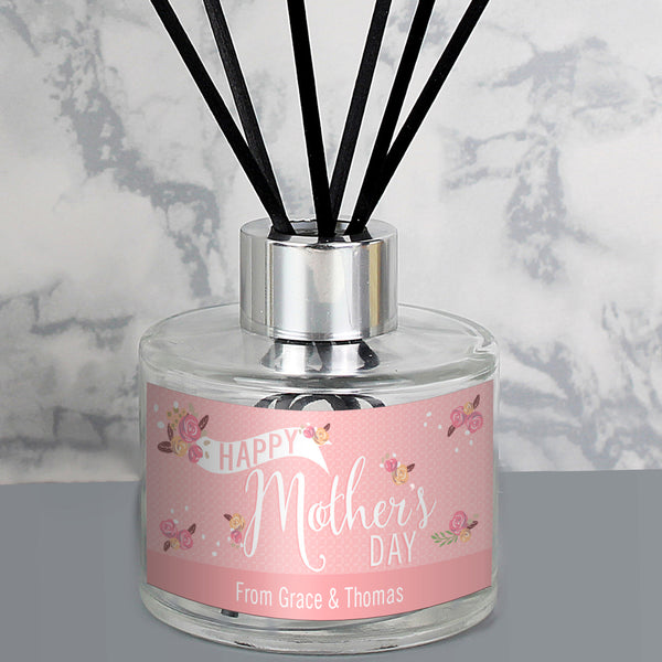 Personalised Mother's Day Reed Diffuser from Sassy Bloom Gifts - alternative view