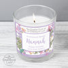 Personalised Country Diary Botanical Scented Jar Candle