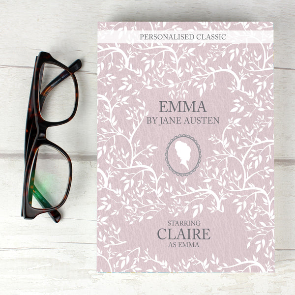 Personalised Emma Novel - 6 Characters from Sassy Bloom Gifts - alternative view