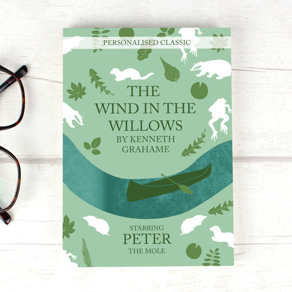 Personalised The Wind in the Willows Novel - 6 Characters from Sassy Bloom Gifts - alternative view