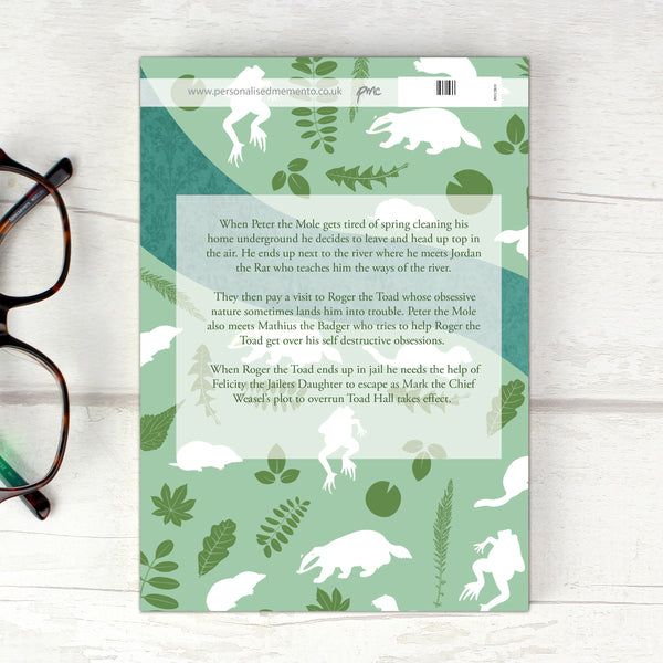Personalised The Wind in the Willows Novel - 6 Characters lifestyle image
