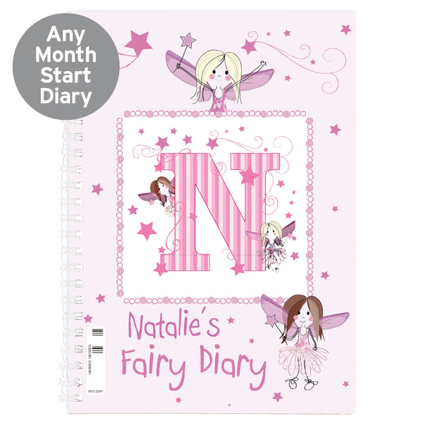 Personalised Fairy - A5 Diary from Sassy Bloom Gifts - alternative view