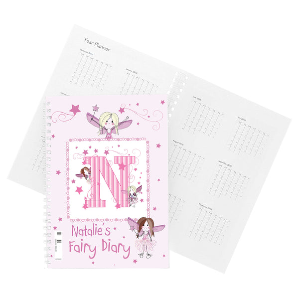 Personalised Fairy - A5 Diary lifestyle image