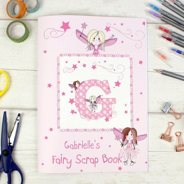 Personalised Fairy - A4 Scrapbook from Sassy Bloom Gifts - alternative view
