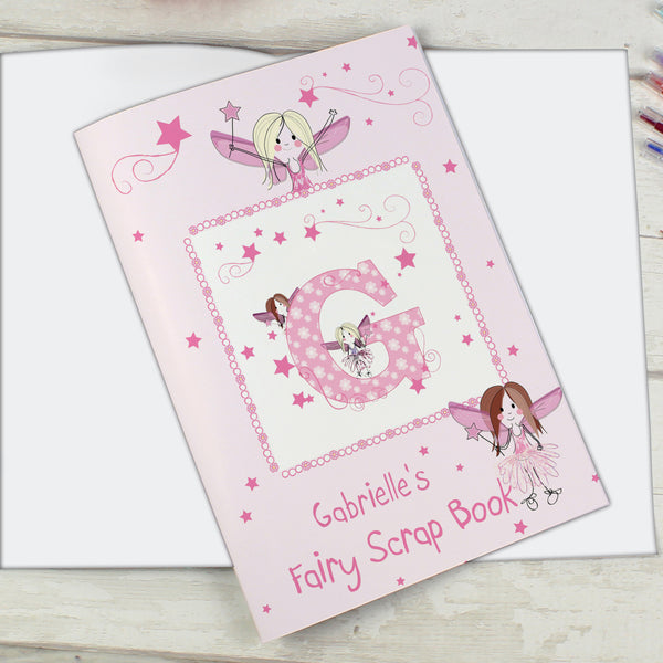 Personalised Fairy - A4 Scrapbook lifestyle image