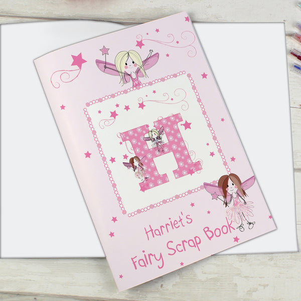 Personalised Fairy - A4 Scrapbook with personalised name
