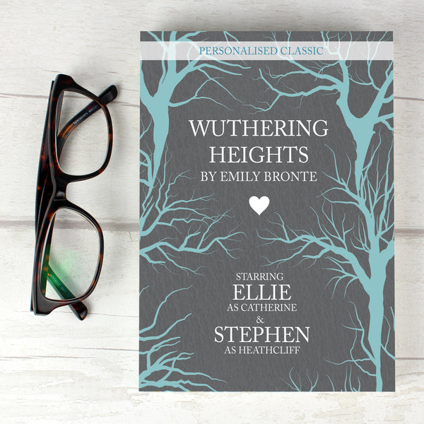 Personalised Wuthering Heights Novel - 2 Characters from Sassy Bloom Gifts - alternative view