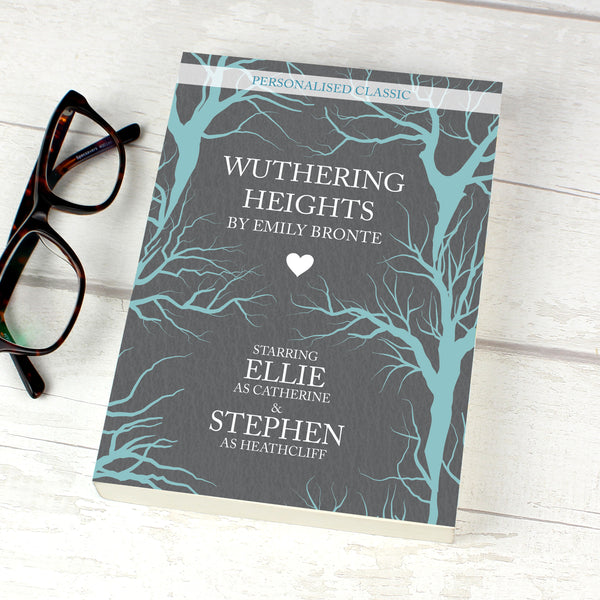 Personalised Wuthering Heights Novel - 2 Characters