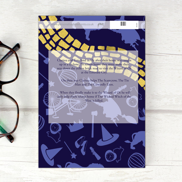 Personalised The Wizard of OZ Novel - 1 Character lifestyle image