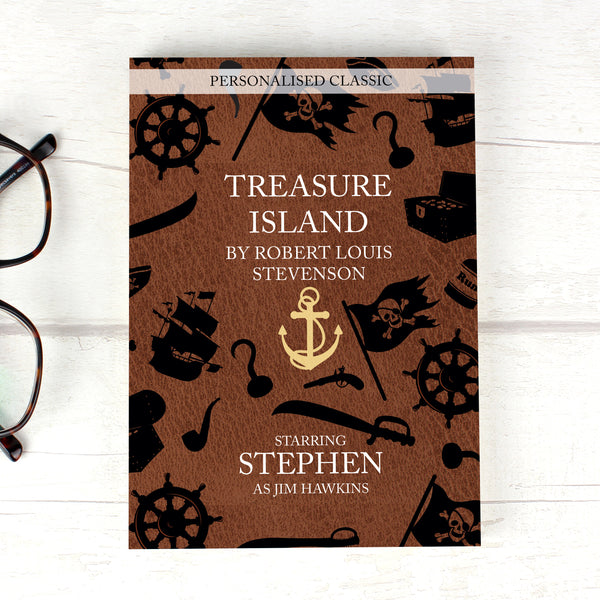 Personalised Treasure Island Novel - 1 Character from Sassy Bloom Gifts - alternative view