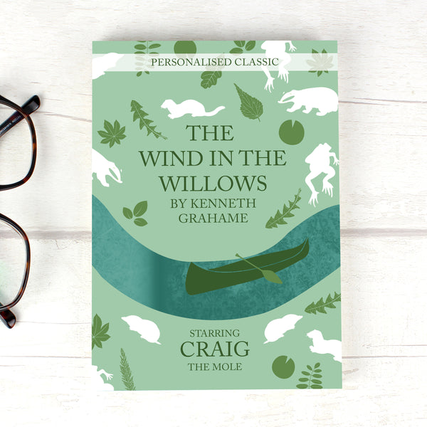 Personalised The Wind in the Willows Novel - 1 Character from Sassy Bloom Gifts - alternative view