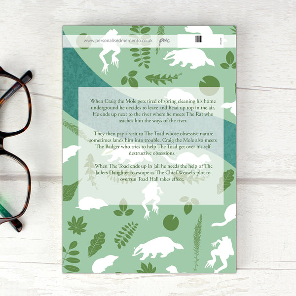 Personalised The Wind in the Willows Novel - 1 Character lifestyle image