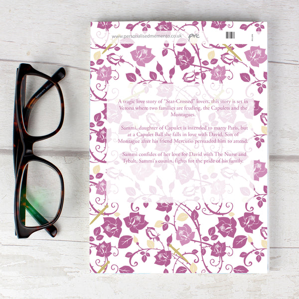 Personalised Romeo and Juliet Novel - 2 Characters lifestyle image