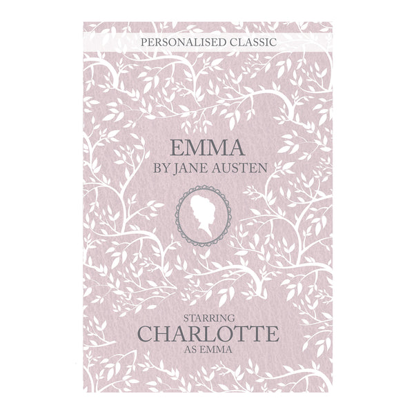 Personalised Emma Novel - 1 Character white background