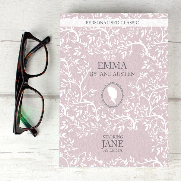 Personalised Emma Novel - 1 Character from Sassy Bloom Gifts - alternative view