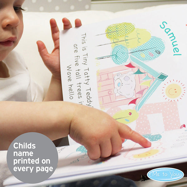Personalised Tiny Tatty Teddy Learning Adventure Book