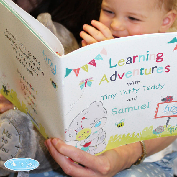 Personalised Tiny Tatty Teddy Learning Adventure Book from Sassy Bloom Gifts - alternative view