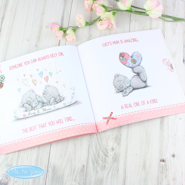 Personalised Me To You For Her Poem Book with personalised name