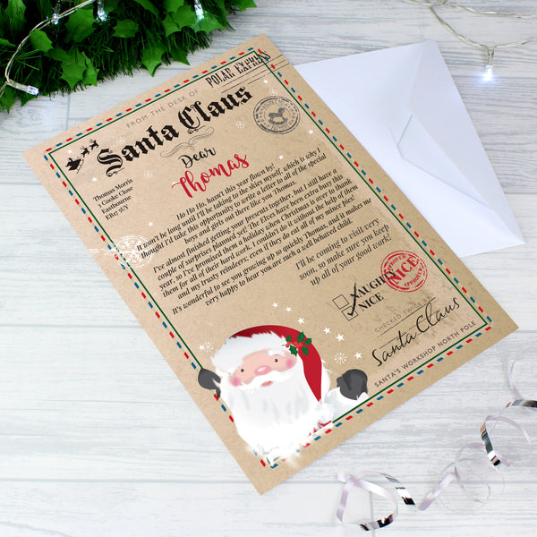 Personalised Santa Claus Letter lifestyle image
