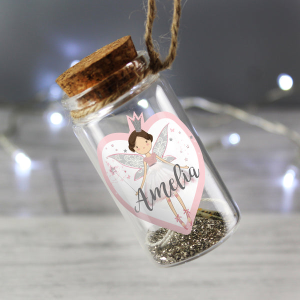 Personalised Fairy Dust Message in a Bottle lifestyle image
