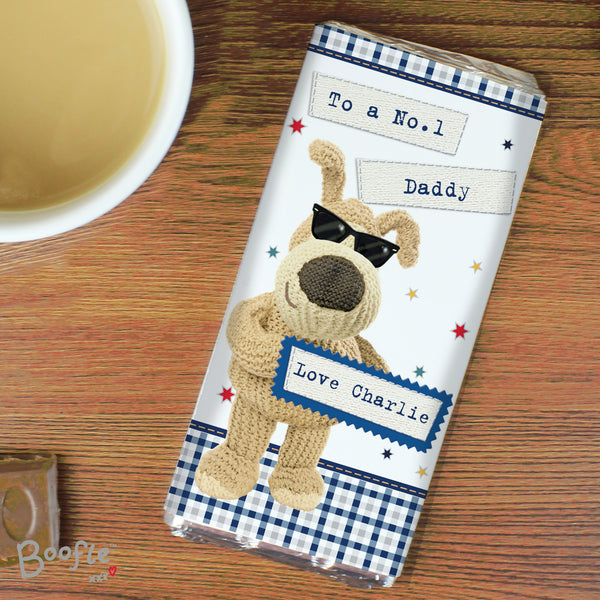 Personalised Boofle Stars Milk Chocolate Bar from Sassy Bloom Gifts - alternative view