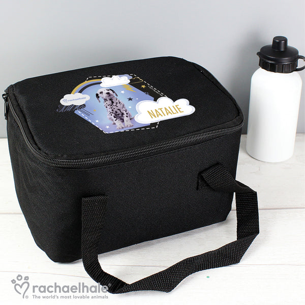 Personalised Rachael Hale Dalmatian Black Lunch Bag from Sassy Bloom Gifts - alternative view