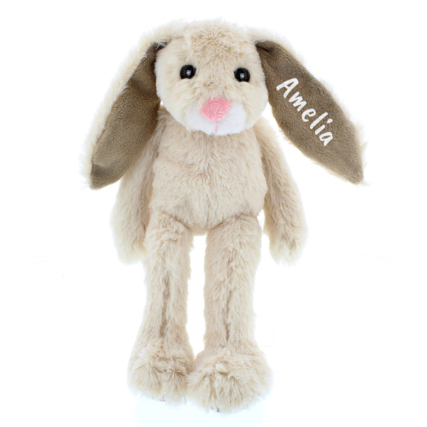 Personalised Bunny Soft Toy White Background Full Length