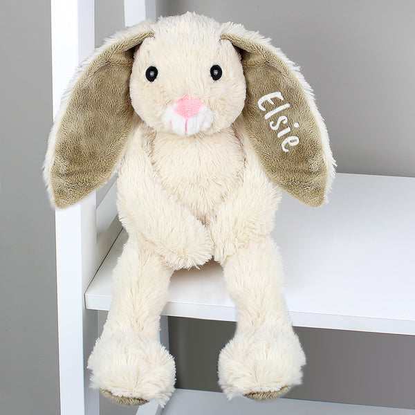 Personalised Bunny Soft Toy Sitting Main