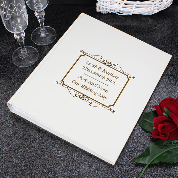 Personalised Gold Album With Sleeves from Sassy Bloom Gifts - alternative view