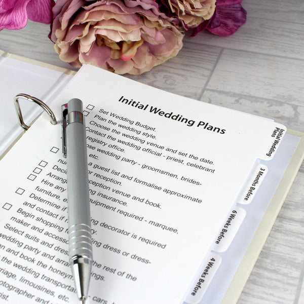Personalised Happily Ever After Wedding Planner lifestyle image