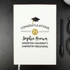 Personalised Graduation Hardback A5 Notebook