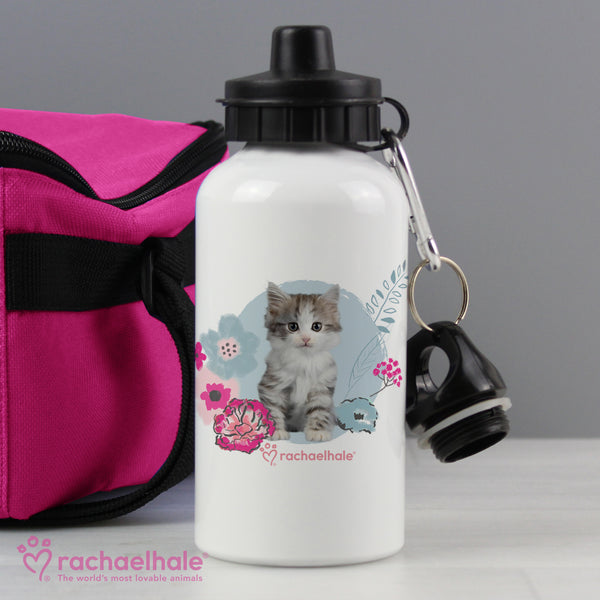 Personalised Rachael Hale Cute Kitten Drinks Bottle from Sassy Bloom Gifts - alternative view