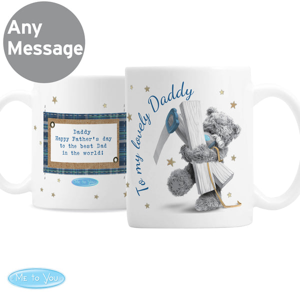 Personalised Me To You DIY Bear Mug with personalised name