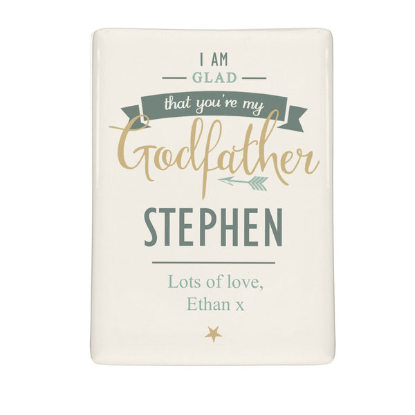 Personalised I Am Glad... Godfather Fridge Magnet lifestyle image