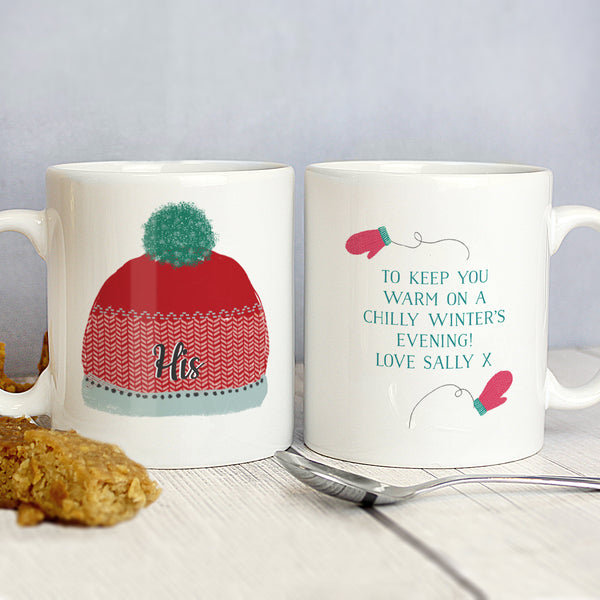Personalised Woolly Hats Mug Set from Sassy Bloom Gifts - alternative view