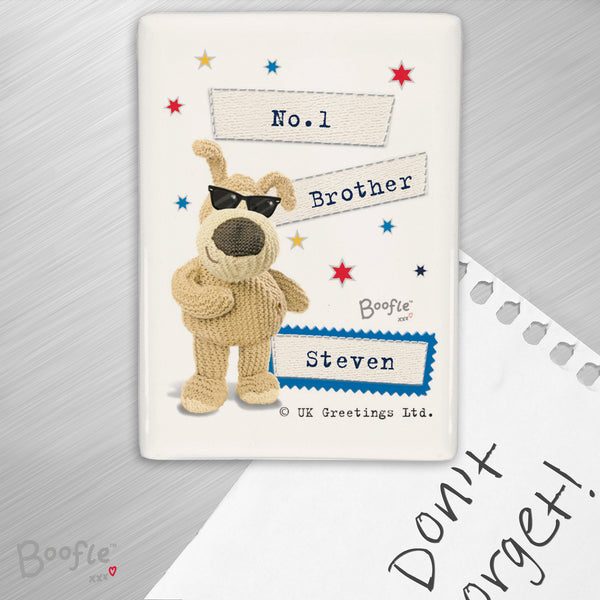 Personalised Boofle Stars Fridge Magnet from Sassy Bloom Gifts - alternative view