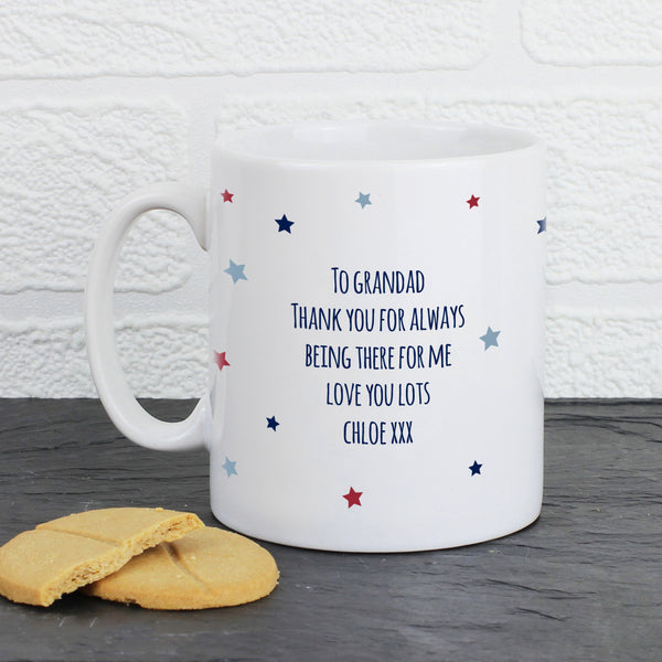Personalised 1st Father's Day Mug lifestyle image