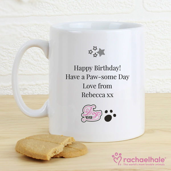 Personalised Rachael Hale Doodle Pug Mug from Sassy Bloom Gifts - alternative view