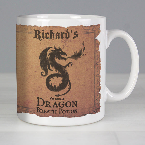 Personalised Dragon Breath Potion Mug from Sassy Bloom Gifts - alternative view