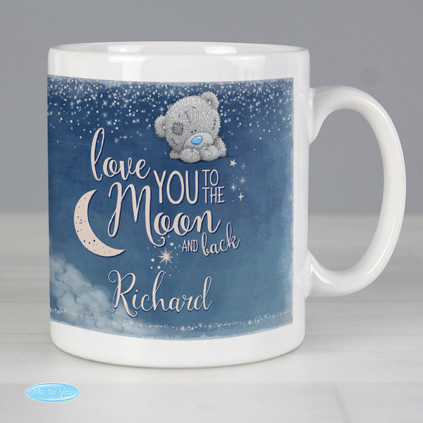 Personalised Me to You 'Love You to the Moon and Back' Mug with personalised name