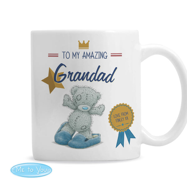 Personalised Me to You Slippers Mug white background