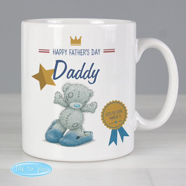 Personalised Me to You Slippers Mug lifestyle image