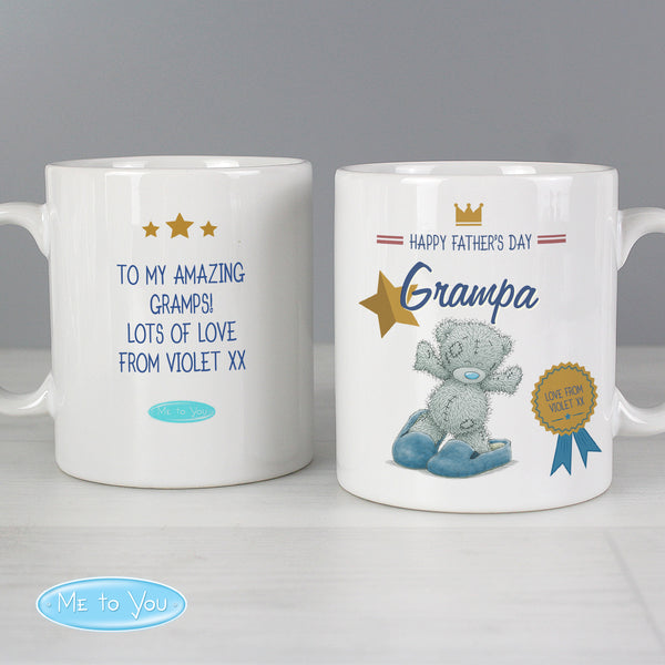 Personalised Me to You Slippers Mug with personalised name