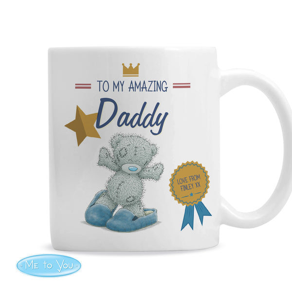 Personalised Me to You Slippers Mug