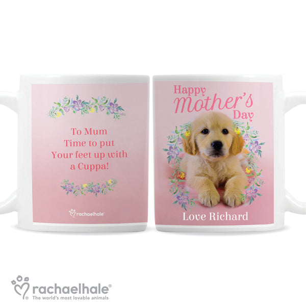 Personalised Rachael Hale 'Happy Mother's Day' Mug white background