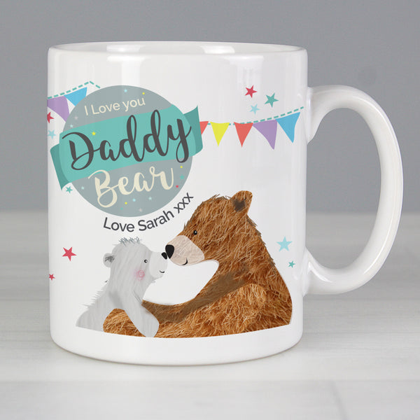 Personalised Daddy Bear Mug from Sassy Bloom Gifts - alternative view